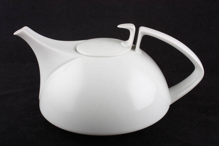 no obligation search for rosenthal tac gropius white teapot with lid. Black Bedroom Furniture Sets. Home Design Ideas