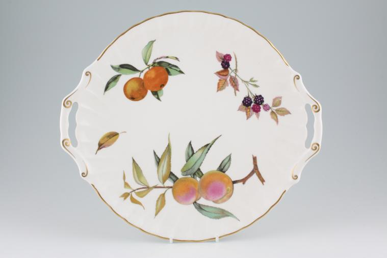Royal Worcester - Arden - Bread + Butter Plate - Handled