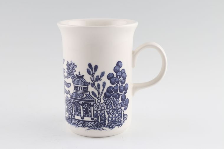 No Obligation Search For Churchill Blue Willow Mug
