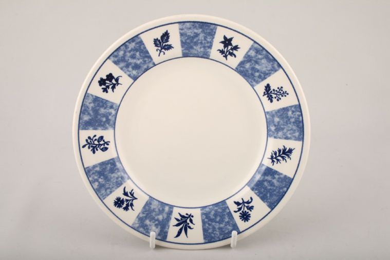 Churchill - Blue and White - Tea / Side / Bread & Butter Plate