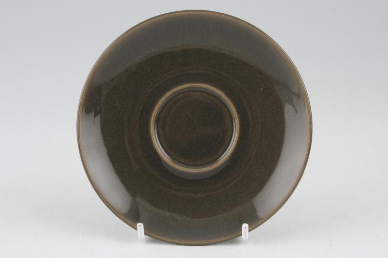 Denby - Smokestone - Espresso Saucer