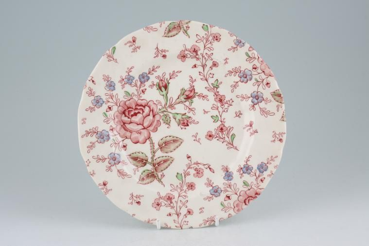 Johnson Brothers - Rose Chintz - Pink - Starter / Salad / Dessert Plate