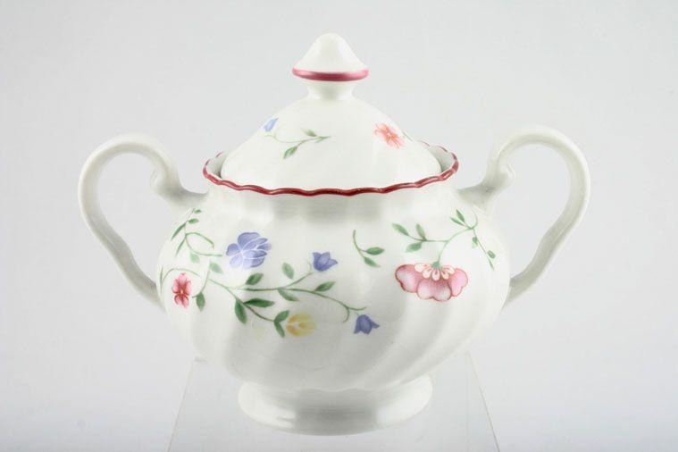 Johnson Brothers - Summer Chintz - Sugar Bowl - Lidded (Tea) - 2 Handles