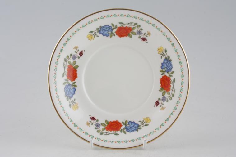 Aynsley - Famille Rose - Tea Saucer - 2 3/4