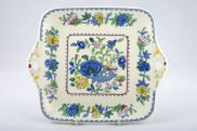 "Masons - Regency - Cake Plate - 10 1/2"" - Eared"
