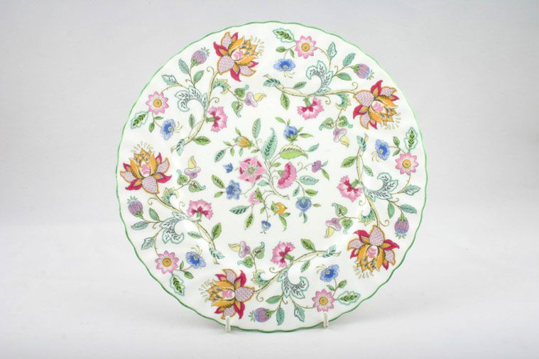 Minton - Haddon Hall - Green Edge - Breakfast / Salad / Luncheon Plate