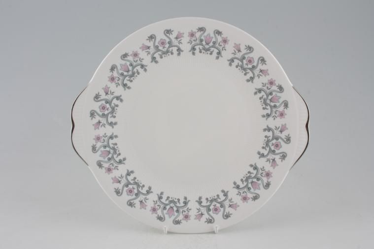 Paragon - Fleur - Cake Plate - Round - Eared